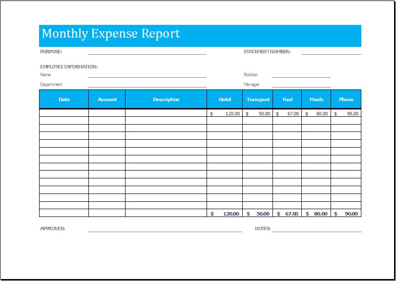 20 editable REPORT TEMPLATES for MS WORD & EXCEL ...
