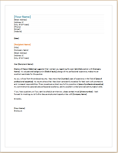 11 Professional And Business Cover Letter Templates Document Hub