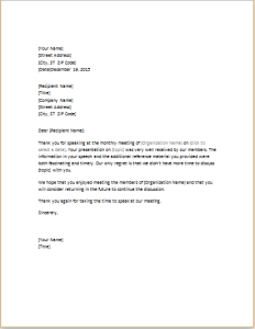 Thank you letter to guest speaker image collections letter format thank you letter to guest speaker images letter format formal sample guest thank you letter gallery altavistaventures Choice Image