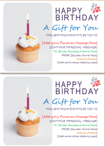 Birthday gift certificate template document hub birthday gift certificate yelopaper Images