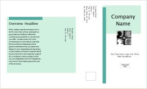 business marketing brochure