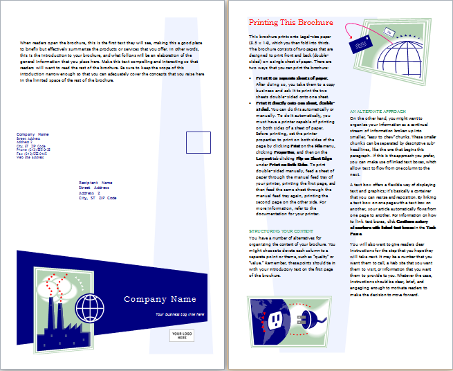 marketing brochure