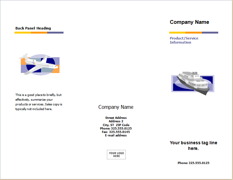 new product information brochure