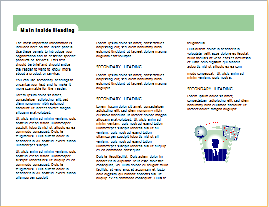 service information brochure