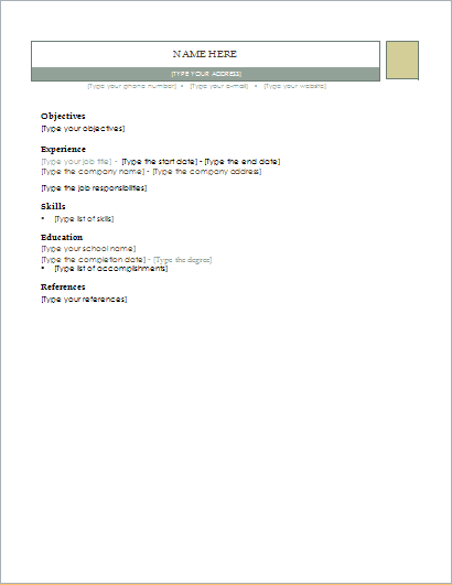 adjacency resume ms word customizable resume layout and