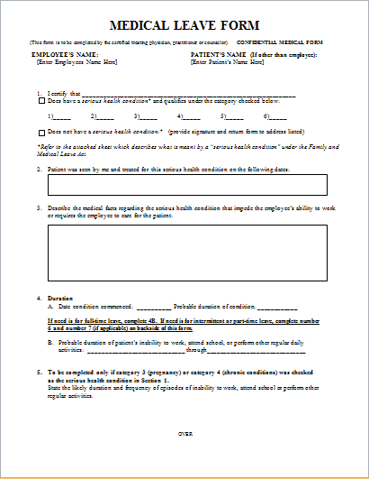 20 Medical Form LOGS sheets TEMPLATES – Medical Form
