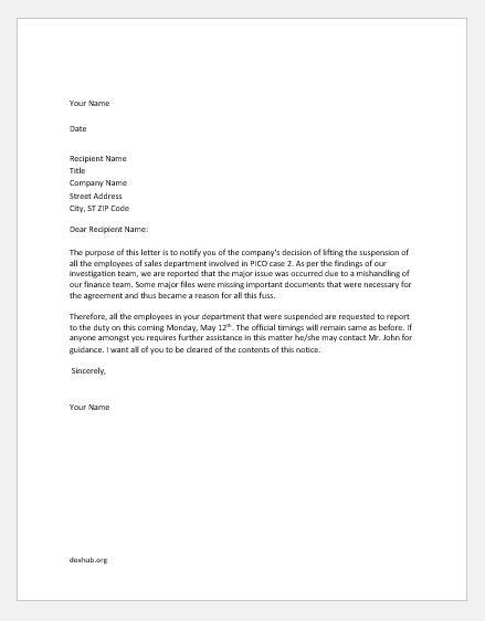 Confidential Matter  Letters