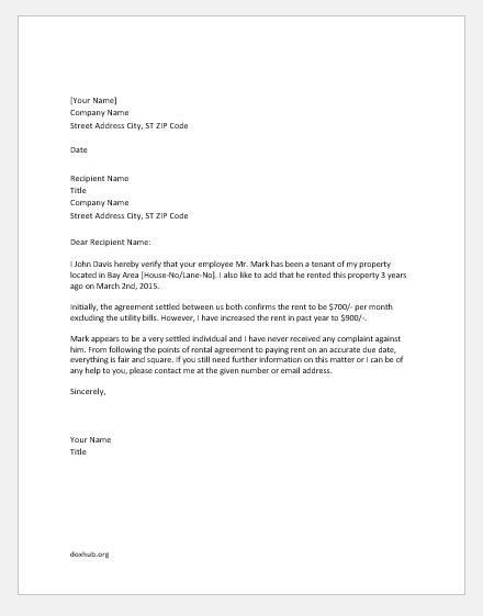 Proof Of Residence Letter from www.doxhub.org