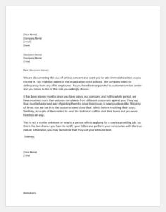Reprimand Letter for Breach of Company Policy