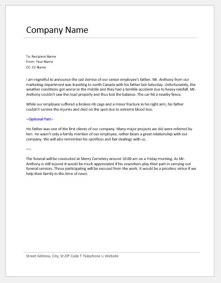 New Hire Announcement Letter from www.doxhub.org