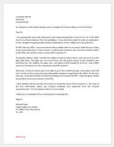 Answer Letter for Notice to Explain